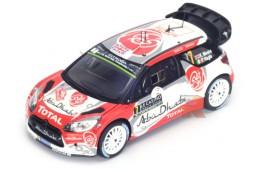 CITROEN SD3 WRC Rally Montecarlo 2016 K. Meeke / P. Nagle - Spark Escala 1:43 (s4968)