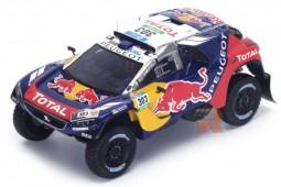 PEUGEOT 2008 KDR  Rally Dakar 2016 C. Sainz / L. Cruz - Spark Escala 1:43 (s4877)