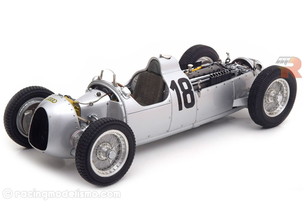 AUTO UNION Typ C Eifel Race No 18 1936 - CMC Models Scale 1
