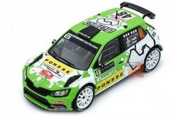 SKODA Fabia R5 Rally Monte Carlo 2016 E. Lappi / J. Ferm - Ixo Scale 1:43 (RAM628)