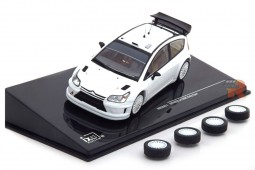CITROEN C4 WRC Rally Spec Plain Body 2006 - Includes 2x Set Wheels and Tyres - Ixo Scale 1:43 (MDCS011)