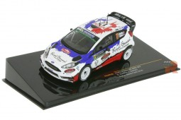 FORD Fiesta RS WRC Rally Monte Carlo 2016 B. Bouffier / V. Belloto - Ixo Scale 1:43 (RAM629)