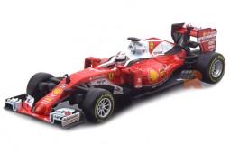 FERRARI SF16-H Formula 1 2016 S. Vettel - Bburago Escala 1:43 (36804V)