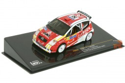 CITROEN C2 S1600 Winner Rally Tour de Corse 2006 Tirabassi / Renucci - Ixo Scale 1:43 (RAM245)