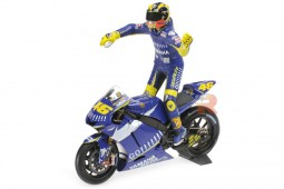 YAMAHA YZR-M1 Moto GP Donington 2005 V. Rossi Figure Included - Minichamps Scale 1:12 (122053146)