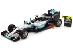 MERCEDES W07 GP Formula 1 Abu Dhabi - World Champion 2016 N. Rosberg - Spark Scale 1:18 (18S250)