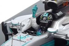 MERCEDES W07 GP Formula 1 Abu Dhabi - Campeon del Mundo 2016 N. Rosberg - Spark Escala 1:18 (18S250)