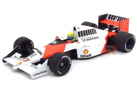 McLaren MP4/5B Campeon del Mundo F1 1990 A. Senna - Minichamps Escala 1:18 (540901827)