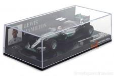 MERCEDES AMG W07 Ganador GP Monaco 2016 L. Hamilton - Minichamps Escala 1:43 (417160344)