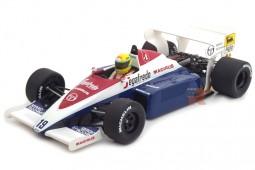 TOLEMAN Hart TG184 Formula 1 1984 A. Senna - Minichamps Escala 1:18 (540841819)