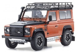 LAND ROVER Defender 90 Adventure 2007 - Kyosho Scale 1:18 (08901P)