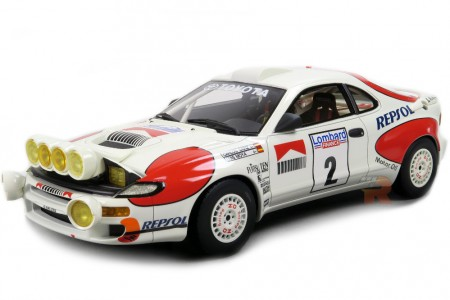 TOYOTA Celica Turbo 4WD Ganador RAC Rally 1992 C. Sainz / L. Moya - Top Marques Escala 1:18 (TOP34BN)