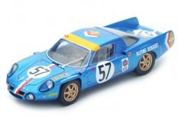 ALPINE A210 24h Le Mans 1968 A. Le Guellec / A. Serpaggi - Spark Escala 1:43 (S4372)