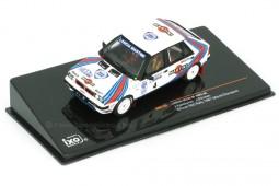 LANCIA Delta HF 4WD Ganador RAC Rally Campeon del Mundo 1987 M. Kankkunen / Piironen - Ixo Escala 1:43 (RAC120)