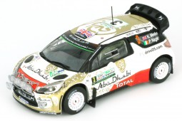 CITROEN DS3 WRC Rally Argentina 2015 K. Meeke / P. Nagle - Ixo Scale 1:43 (DCC15012)