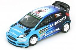 FORD Fiesta RS WRC 2016 M. Otsberg / O. Floene - Ixo Escala 1:43 (DCC16002)