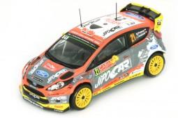 FORD Fiesta RS WRC Rally Montecarlo 2015 M. Prokop / J. Tomanek - Ixo Escala 1:43 (DCC15010)
