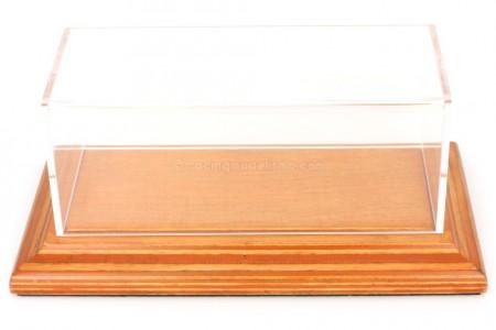 VITRINA Atlantic Madera Molsheim Deluxe - Escala 1:43 Dimensiones interiores (16 x 7 x 6 cm)