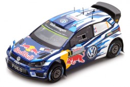 VOLKSWAGEN Polo WRC World Champion Rally Australia 2016 S. Ogier - Spark Scale 1:43 (S4971)