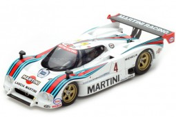 LANCIA LC2 Martini 24h Le Mans 1985 Wollek / Nannini / Cesario - Spark Escala 1:18 (18S161)