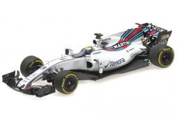 WILLIAMS FW40 Martini Formula 1 2017 F. Massa - Minichamps Scale 1:43 (417170019)