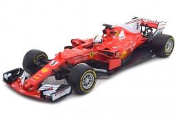FERRARI SF70H Formula 1 2017 S. Vettel - Bburago Scale 1:18 (18-16805V)