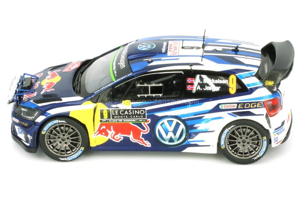 Volkswagen Polo R Wrc Night Version Rally Monte Carlo 2016 A