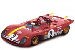FERRARI 312 PB Winner 6h Daytona 1972 M. Andretti / J. Ickx - Tecnomodel Scale 1:18 (TM18