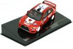 MITSUBISHI Lancer Evo X Rally Hokkaido 2010 K. Taguchi / C. Murphy - Ixo Scale 1:43 (RAM452)