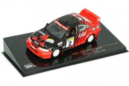 MITSUBISHI Lancer Evo VI Ganador Rally Canberra 1999 Y. Kataoka / S. Hayashi - Ixo Escala 1:43 (RAM514)