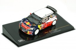 CITROEN DS3 WRC Winner Rally Monza 2011 S. Loeb / S. Loeb - Ixo Scale 1:43 (RAM466)