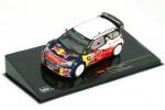 CITROEN DS3 WRC Winner Rally Monza 2011 S. Loeb / S. Loeb - Ixo Scale 1:43 (RAM466)