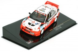 MITSUBISHI Lancer Evo VI Rally China 1999 K. Taguchi / R. Teoh - Ixo Scale 1:43 (RAM513)
