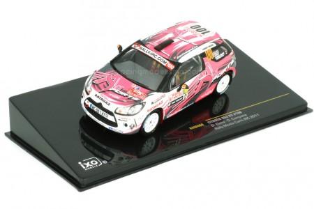 CITROEN DS3 R3 Rally Monte Carlo IRC 2011 D. Elena / O. Campana - Ixo Scale 1:43 (RAM460)