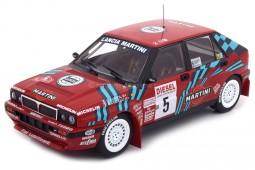 LANCIA Delta HF Integrale 16V Rally San Remo 1989 Auriol / Occelli - Triple 9 Escala 1:18 (T9-1800170)