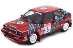 LANCIA Delta HF Integrale 16V Rally San Remo 1989 Auriol / Occelli - Triple 9 Scale 1:18 (T9-1800170)