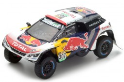 PEUGEOT 3008 DKR Dakar 2017 C. Despres / D. Castera - Spark Escala 1:43 (S5612)