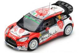 CITROEN DS3 WRC Rally Monte Carlo 2017 C. Breen / S. Martin - Spark Scale 1:43 (S5156)