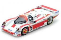 PORSCHE 962C 2.8L Turbo 24h Le Mans 1987 O. Larrauri / J. Pareja / U. Scahfer - Spark Scale 1:43 (S5509)