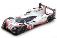 PORSCHE 919 Hybrid Ganador 24h Le Mans 2017 T. Bernhard / B. Hartley / E. Bamber - Spark Escala 1:43 (43LM17)