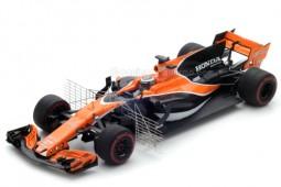 McLaren Honda MCL32 Test Barcelona 2017 F. Alonso - Spark Escala 1:43 (S5044)