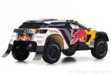 PEUGEOT 3008 DKR Ganador Rally Dakar 2017 S. Peterhansel / J.P. Cottret - Spark Escala 1:43 (S5611)