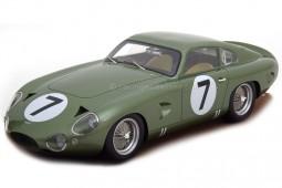 ASTON MARTIN DP214 24h  Le Mans 1963 W. Kimberly / Jo Schlesser - Tecnomodel Scale 1:18 (TM18-72A)