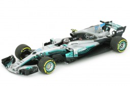 MERCEDES AMG W08 GP Formula 1 Spain  2017 V. Bottas - Minichamps Scale 1:43 (410170077)