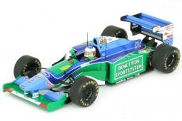 BENETTON Ford B194 Campeon del Mundo Formula 1 Ganador GP Monaco 1994 M. Schumacher - Spark Escala 1:43 (S4481)