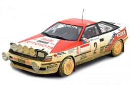 TOYOTA Celica ST 165 Ganador Rally Monte Carlo Dirty Version 1991 C. Sainz / L. Moya - Top Marques Scale 1:18 (TOP44AD)