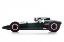 COOPER T60 Ganador GP Formula 1 Monaco 1962 Bruce McLaren - Spark Escala 1:43 (s4802)