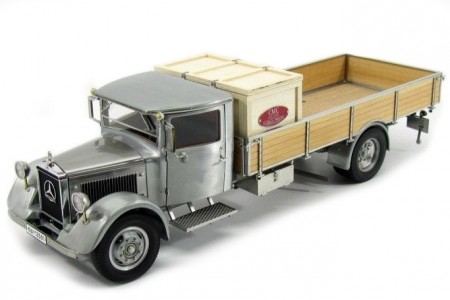 Mercedes Benz Lo2750 Plataform Truck With Wooden Box 1936 Cmc