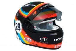 BELL HELMET Fernando Alonso McLaren Honda Indy 500 2017 - Bell Scale 1:2 (70131005)