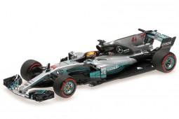 MERCEDES F1 W08 AMG GP Mexico Campeon del Mundo L. Hamilton - Minichamps Scale 1:43 (410171844)